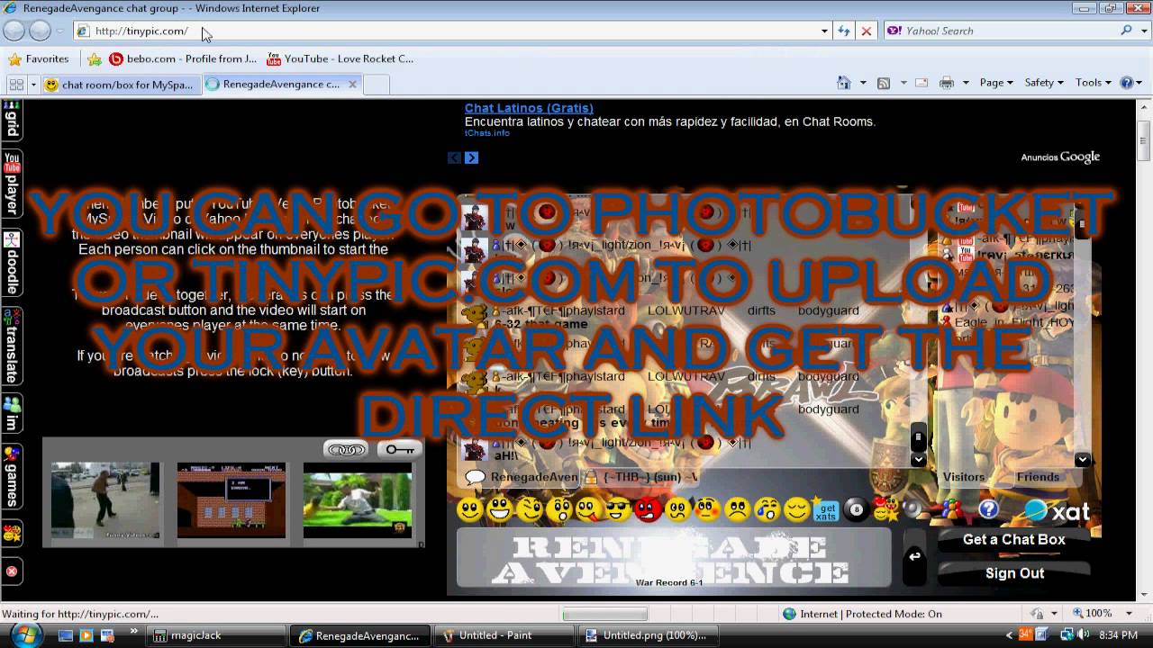 XAT: Fast&Easy. copy/steal avatar from friends - YouTube