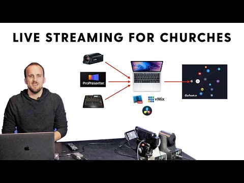 Live Streaming Setup for Churches 2020