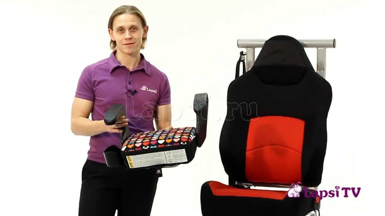 HEYNER SafeUp Comfort XL Pantera Black — бустер — видео обзор 130 .