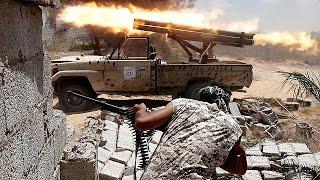 ليبيا: ضربات جوية أمريكية بالاتفاق مع حكومة الوفاق الوطني على مدينة سرت