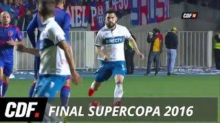 U. Católica 2 - 1 U. de Chile | Final de la Supercopa 2016 | CDF