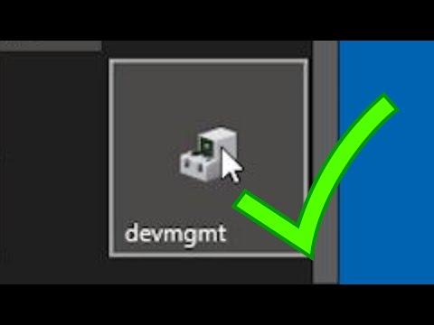 Add Device Manager To Windows Start Or Taskbar