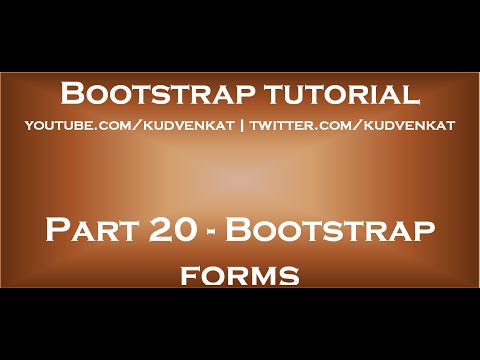 Bootstrap forms