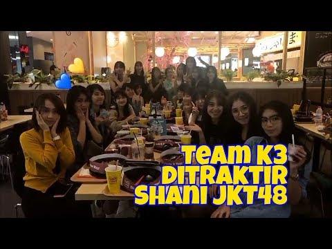 Shani JKT48 syukuran ulang tahun bareng Team K3 (08/10/2017)