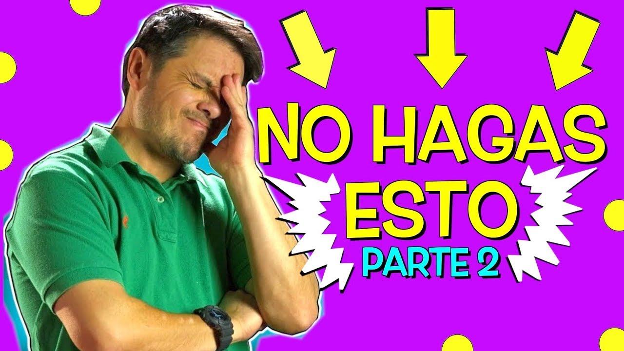 NO COMETAS ESTOS ERRORES EN INGLÉS!!!!! ( Parte 2 )