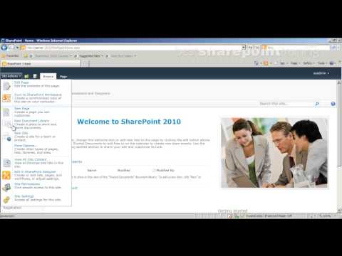 SharePoint 2010: Introduction To Site Permissions - Bestsharepointtraining.com