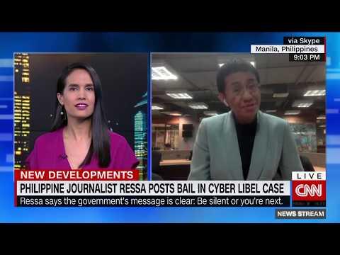 Award-winning journalist Maria Ressa speaks out after her arrest Mp3