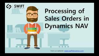 Sales Order Processing in Dynamics NAV - WebSan Solutions Inc.