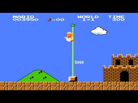 Super Mario Bros (NES) Level 1-1