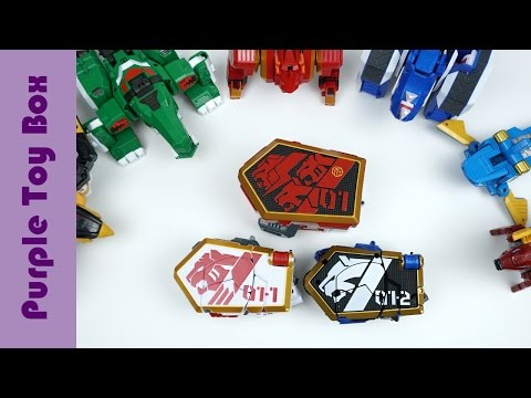 Thumbnail: Animal Transformer And Combination Robot, Geo Mecha Beast Guardian Thunder Lion