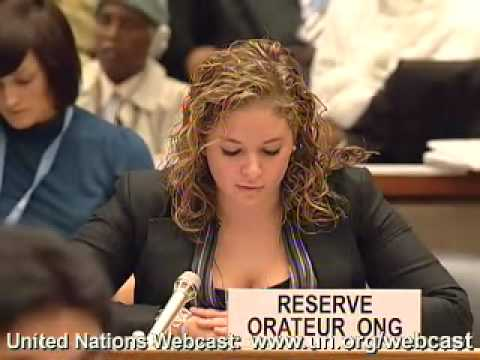 Intervention at UN HRC December 2007