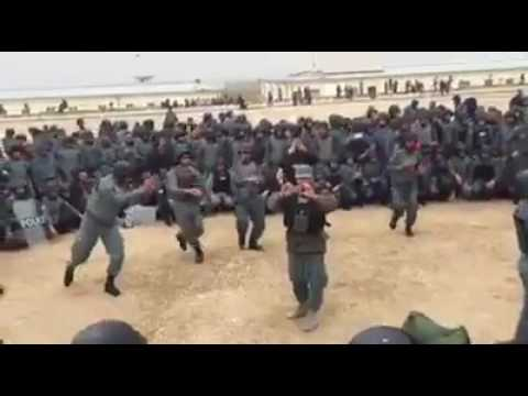 AFGHAN POLICE ATTAN