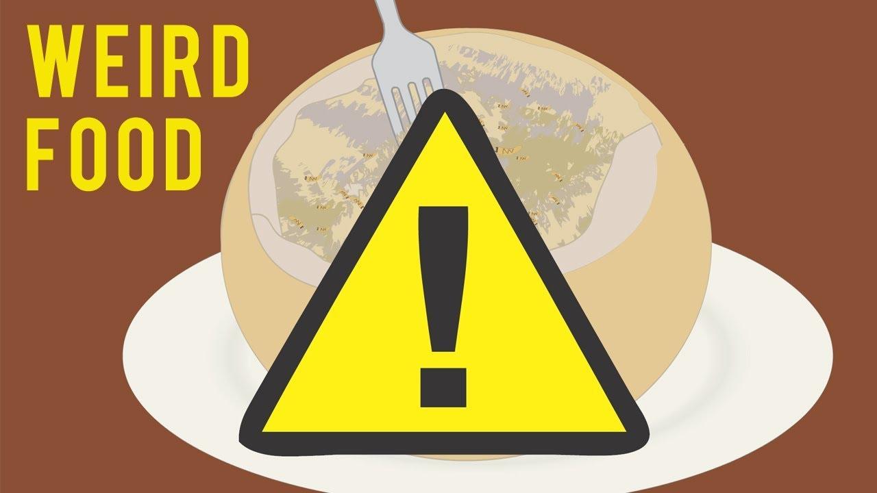 Weird Food Logo 9