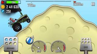TRACTOR FULLY UPGRADED#HILL CLIMB RACING TRACTOR ON DESERT