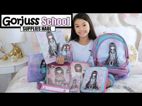 c23525c3b92 GORJUSS SCHOOL SUPPLIES HAUL! 💖CUTEST STUFF EVER!