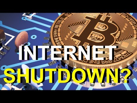 INTERNET SHUTDOWN TO STOP BITCOIN? | Rob Kirby
