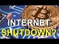 INTERNET SHUTDOWN TO STOP BITCOIN?   Rob Kirby