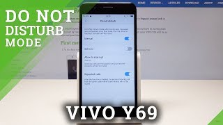 How to Enable Do Not Disturb Mode in VIVO Y69 - Mute Sounds