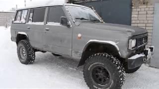 Old Nissan Patrol W260 - обзор подвески,лифт,перенос рессор.