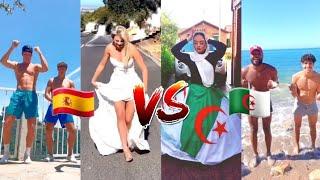 جزائريــون ضد الأجـانب على تيك توك جزء #26 تحدي 🌏ــعالمي les algériens vs les européens tik tok