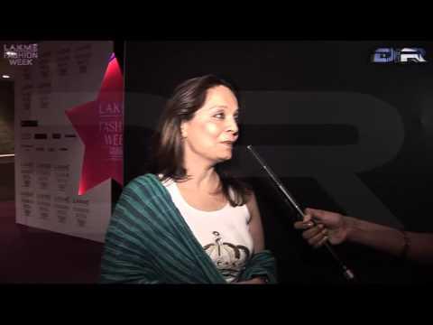 Lakme Fashion Week Celeb Speak Asha Patel (Amisha & Ashmit Patel's mother)