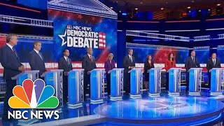 Democratic Candidates Called For Unity In Closing Remarks | NBC News