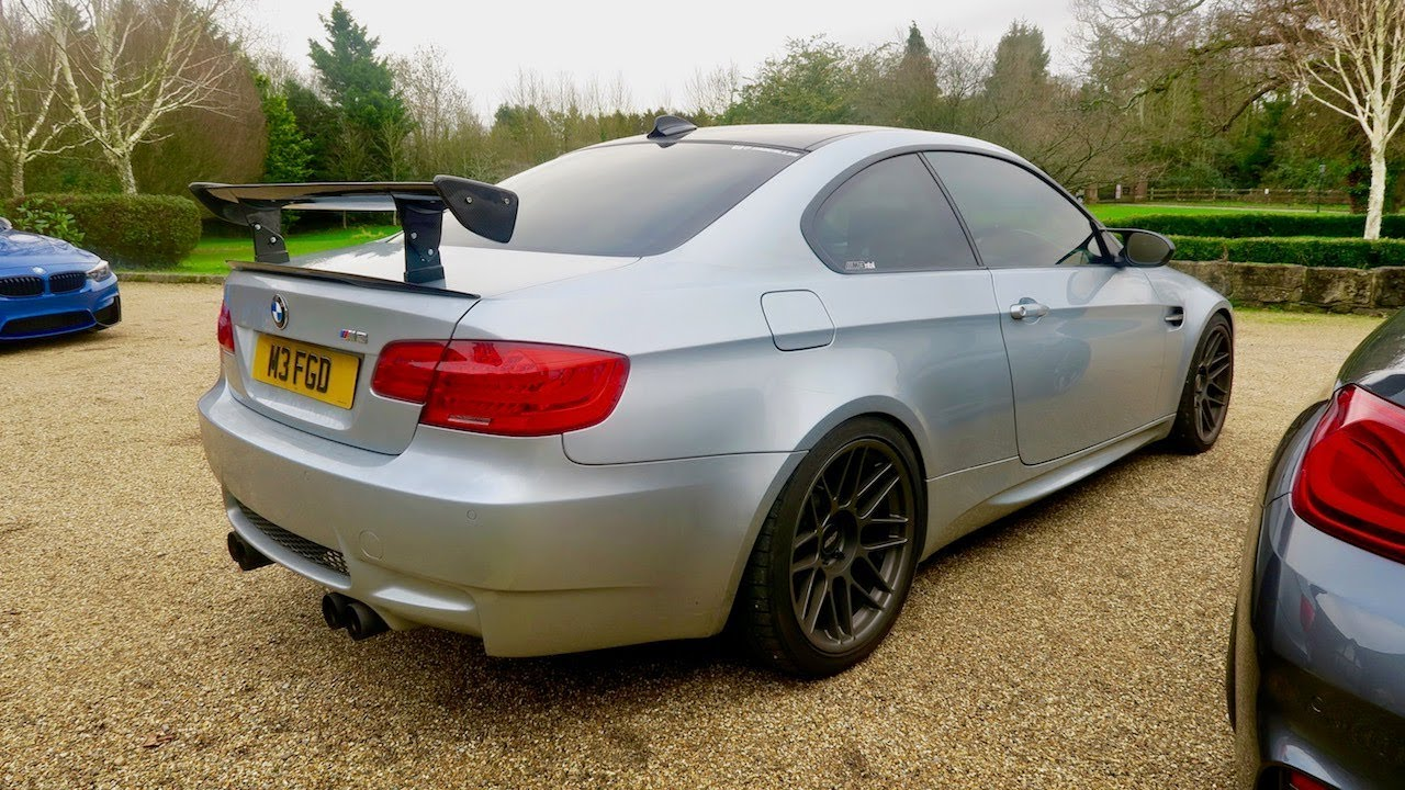 My Carbon Fibre Gts Wing Spoiler For My Bmw E92 M3 Is Fitted