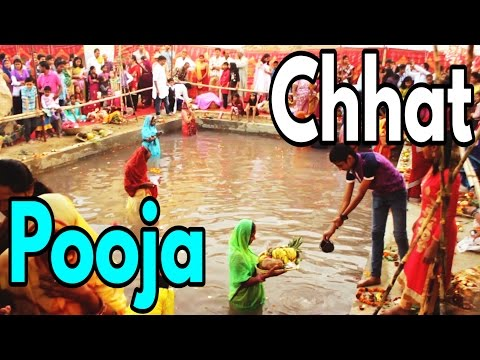 Chhat Pooja (छठ पूजा) Celebration - Unnoticed & UNIQUE Hindu Festival Bigger Than Diwali
