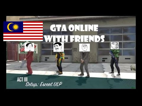 GTA Online - Doomsday heist setup, Play with Don_Khai and friends (Malaysia)