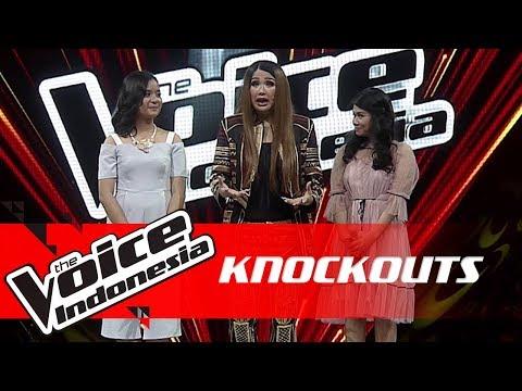 Anggi Vs Cila | Knockouts | The Voice Indonesia GTV 2018