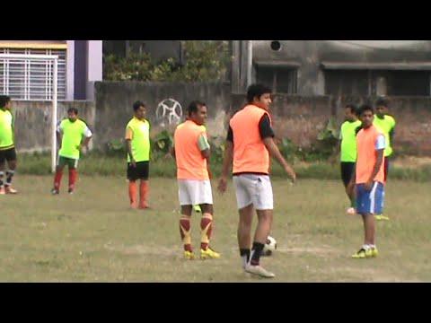 Belghoria Champions League - Local Football Match in Kolkata West Bengal India