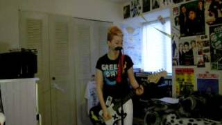 Green Day Uptight Guitar + Vocals Cover