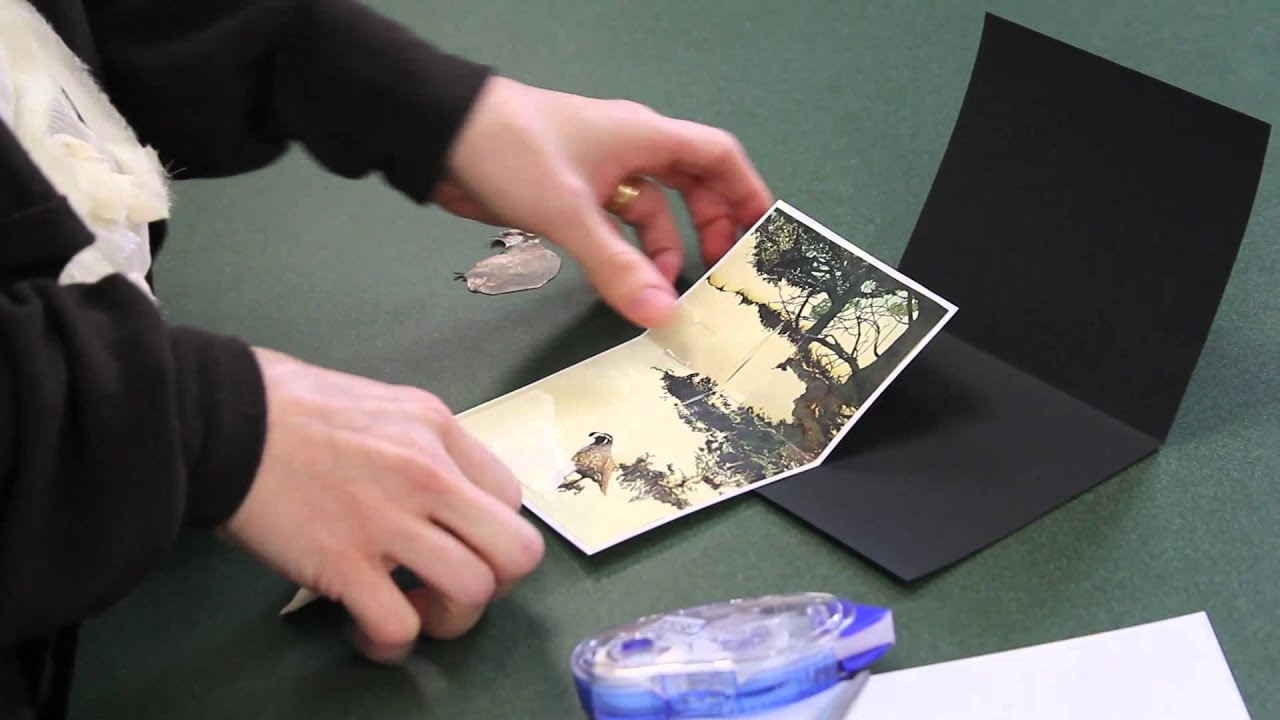 Homemade Greeting Cards Photo Pop Up