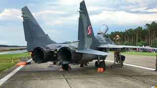 MiG-29 start-up to shut down 🔹 Polish Air Force