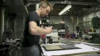 Making Of A Glass Style Cabinet Door