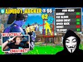 I confronted a HACKER for pretending to be my duo in Fortnite...