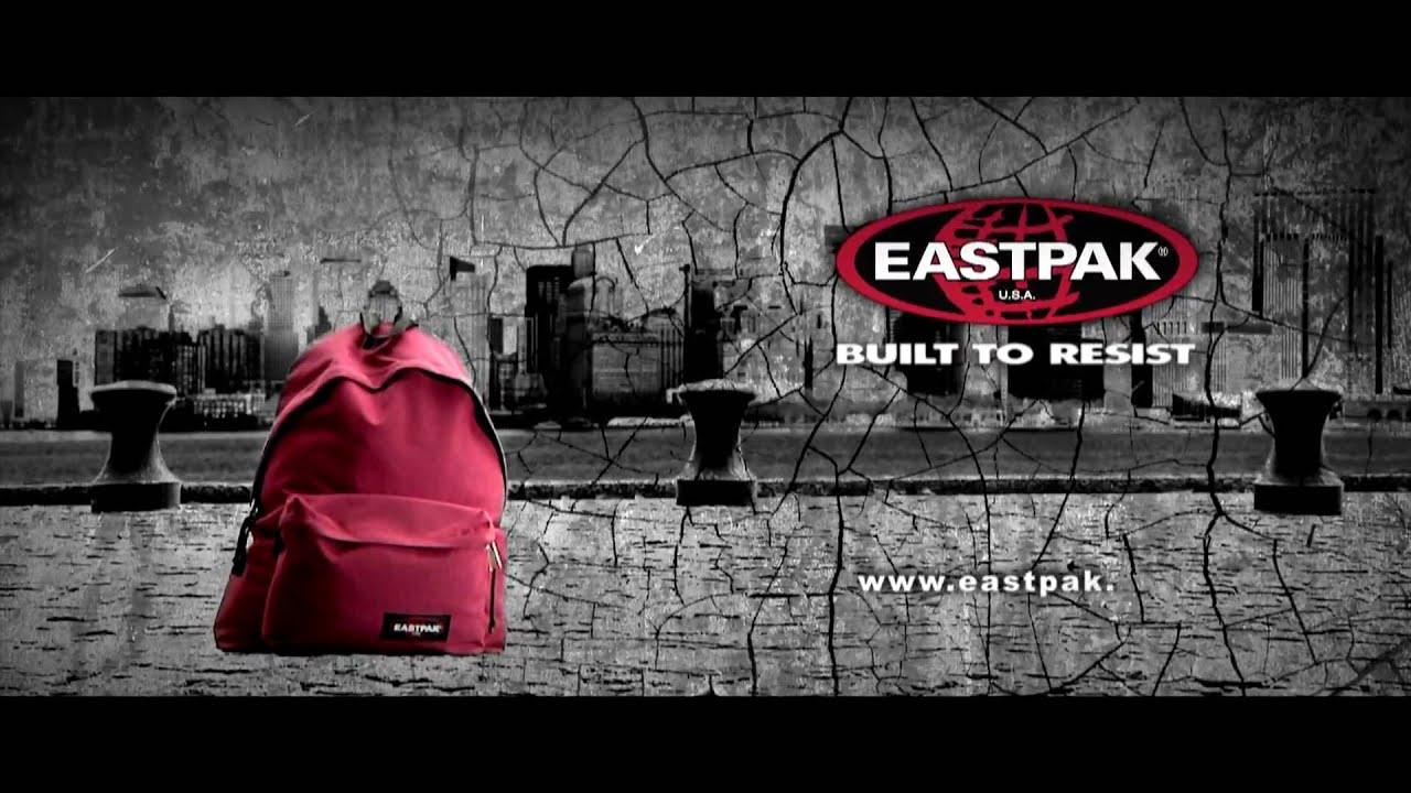 eastpak ad built to resist commercial 2009 youtube