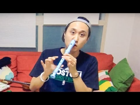 PLAYING RECORDER WITH NOSTRIL? (LIVESTREAM #01)