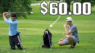 Playing Golf With a Junior Set of Clubs ($60.00 Budget)
