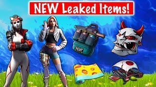 *BRAND NEW* Leaked Skins, Emotes and Wraps! [Glitter, Guitar walk, Takara] (Fortnite Battle Royale)