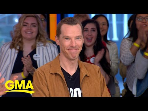 'Avengers' Benedict Cumberbatch on the most talked about movie ever l GMA