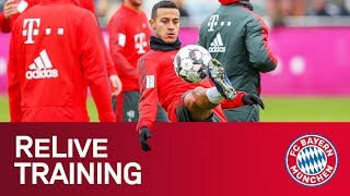 FC Bayern Training Session ahead of Bavarian Derby vs. Nürnberg