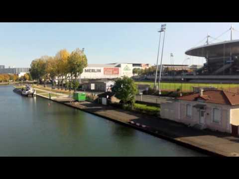 La Plaine St-Denis / Stade De France (vidéo Amatrice - 31 Oct. 2016) Partie 1