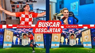 BUSCAR Y DESCARTAR EN FUT DRAFT !!! FINAL DEL MUNDIAL | DESCARTANDO ICONOS