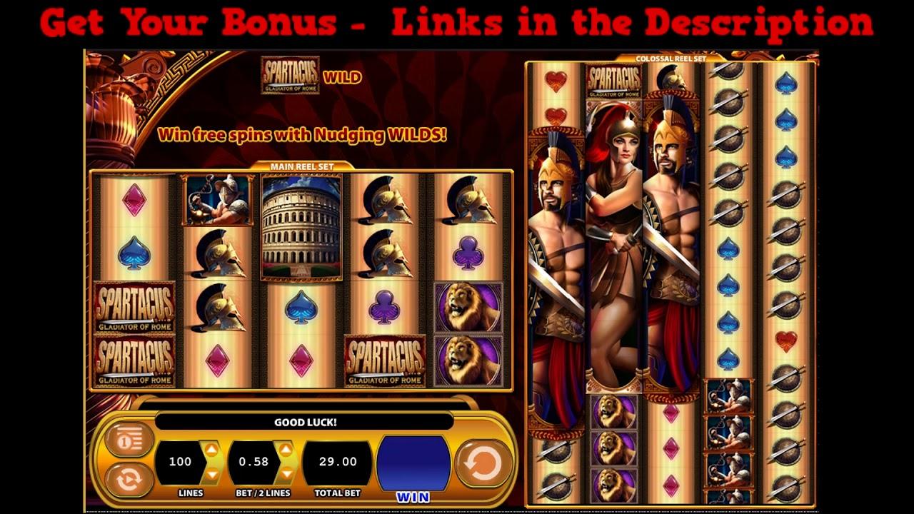 Spartacus gladiator free online slots best gambling movies