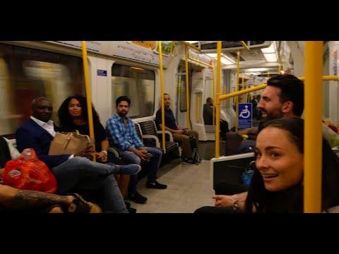 Surprise Proposal on London Underground Train!