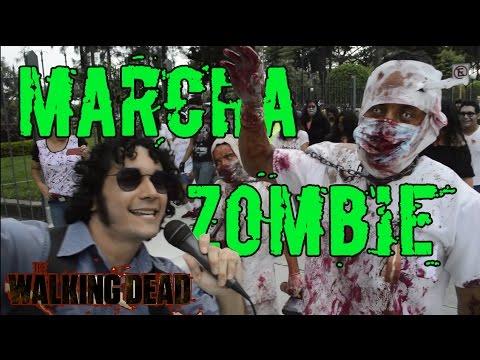Marcha Zombie - The Walking Dead