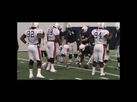 Auburn Spring Practice 9--Offensive Line vs. Defensive Line
