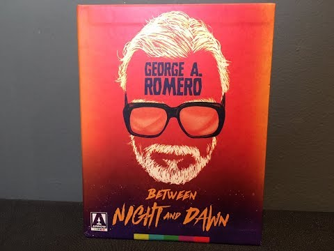George Romero Between Night And Dawn Limited Edition Arrow Video Blu-ray Boxed Set Unboxing