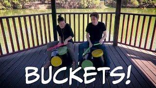 Bucket Drumming!